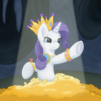 Rarity's Gold by Redquoza
