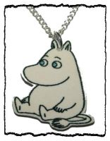 Moomin Necklace by False-desire