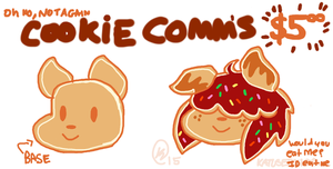 ohno its back COOKIE COMMS by CritterKat