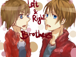 Right and Left Brothers by iMii-s