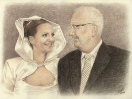 The Bride and her Father by Susie-K