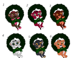 Free Christmas Cubs! CLOSED by Adoptable-Quality