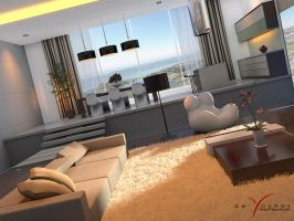 MODERN INTERIOR 3, CONCEPTUAL by TANKQ77