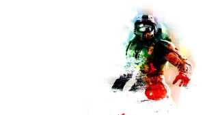 Master Chief Wallpaper by NIHILUSDESIGNS