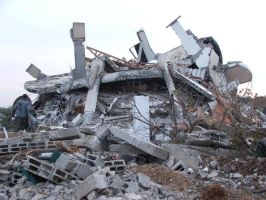Thousands of houses destroyed by ademmm