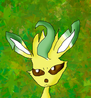 Leafeon by Rise-Of-Majora