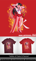 Soldier of Flame and Passion @ Arteesel.com! by Sigma-Astra