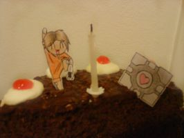 Paperchilds: Portal-related by JuciVegeSC