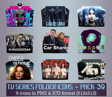 TV Series - Icon Pack 39 by apollojr