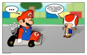 Mario Kart: The Old Excuse by emilhedgehog