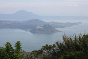taal volcano by silverlife