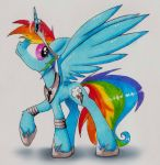Princess Rainbow Dash by KairaAnix
