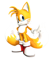 Miles ''Tails'' Prower 2 (Adventure pose) Upgrated by FinnAkira