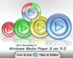Windows Media Player 9 ver5 by weboso
