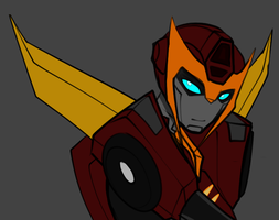 Rodimus by KusuKitty
