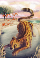Cheetah for Michael by Averyln