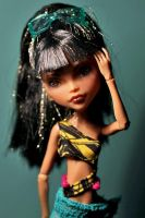 Monster High Repaint 7 by Armeleia