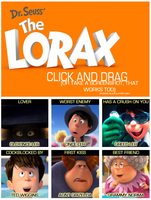 The Lorax A Click and Drag Game by ALadyKing