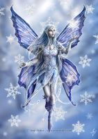Snowflake Fairy by suh-wag