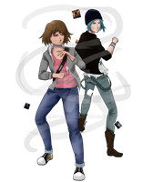 Life Is Strange: Max and Chloe by Ziiteara