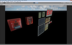 Interior Details for Unity 5. by KyleConway727