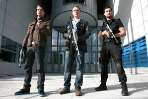 Boys wif guns by Mrs-Connor-Temple