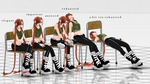 [Pose DL] Sitting by Weillend