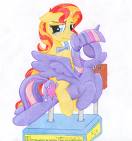 Dejected Sunset by TwilightFlopple