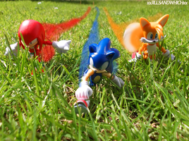 We are Sonic Heroes! by xRubiMalonex