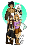 .:Commission - Happy Family:. by Chiibe