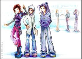 KH.FF7 - Chemistry Club... by 8-13