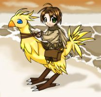 Chocobo Travel :3  - For Jence by yukiblade