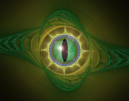 Reptilian Eye by VirginPrune