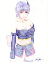 ayane by BabiesOnAHalfTip
