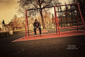 Thinking about... Me by Dzodan