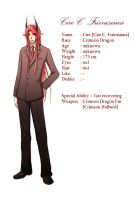 Character profile : Cire by Michron