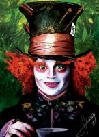 The Mad Hatter by Hasuf3ll