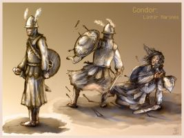 Gondor Marines by Merlkir