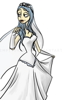 Emily- Corpse Bride by EmptyShadow