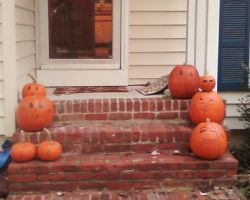 My Halloween Pumpkins by Rosiehamster