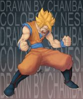 Son Goku by drucpec