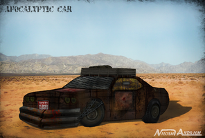 Apocalyptic car by Milosh--Andrich