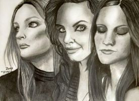 Nightwish queens by IzzyKaulitz