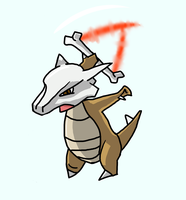 Marowak used Bonemerang! by Camega42