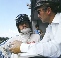 Graham Hill | Colin Chapman (Italy 1967) by F1-history