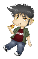 chibi Ted by Abby-desu