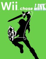 Wii Add R.  Link by Edisythe