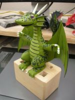 A new wooden Dragon by Rekalnus