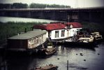 Abandoned floating Houses by Djokoid