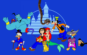 Disney-Heroes and me by DarkDiddyKong